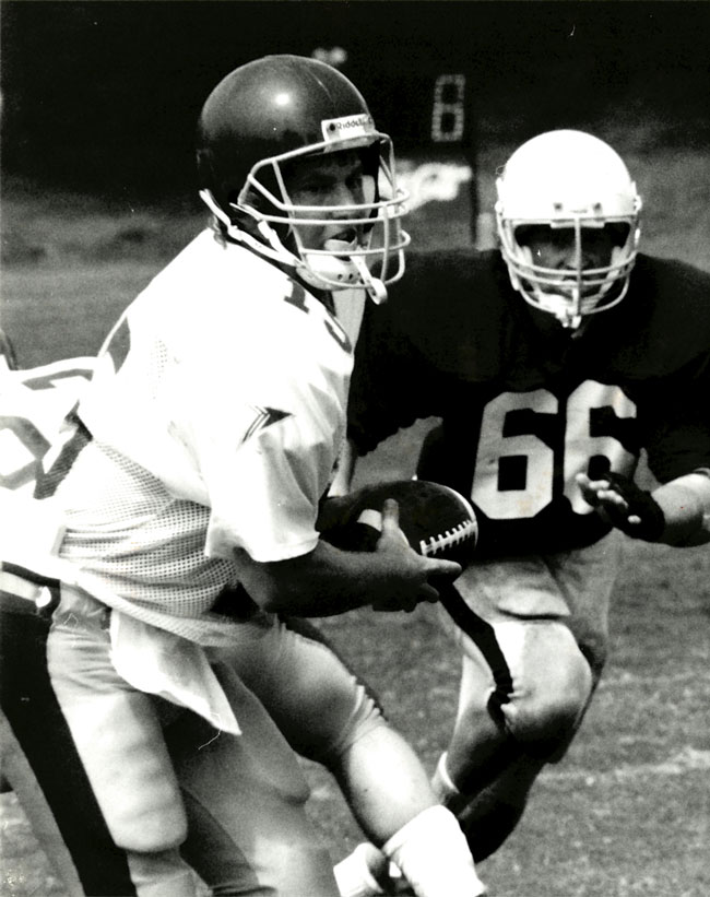 Photo of 1991 football game