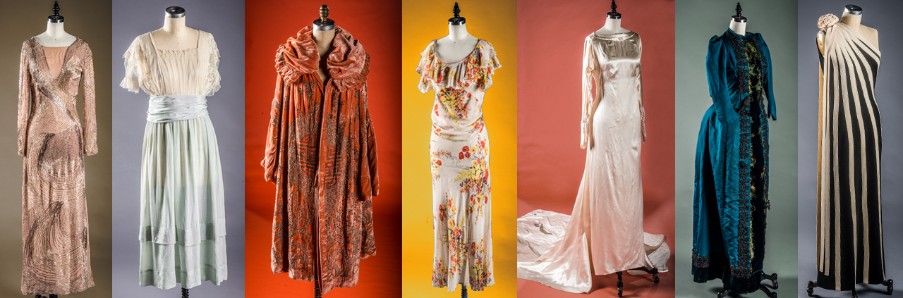 More photos of dresses from the vintage collection