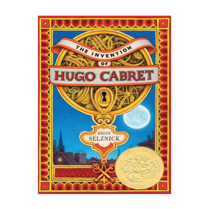 Cover of the Invention of Hugo Cabret book