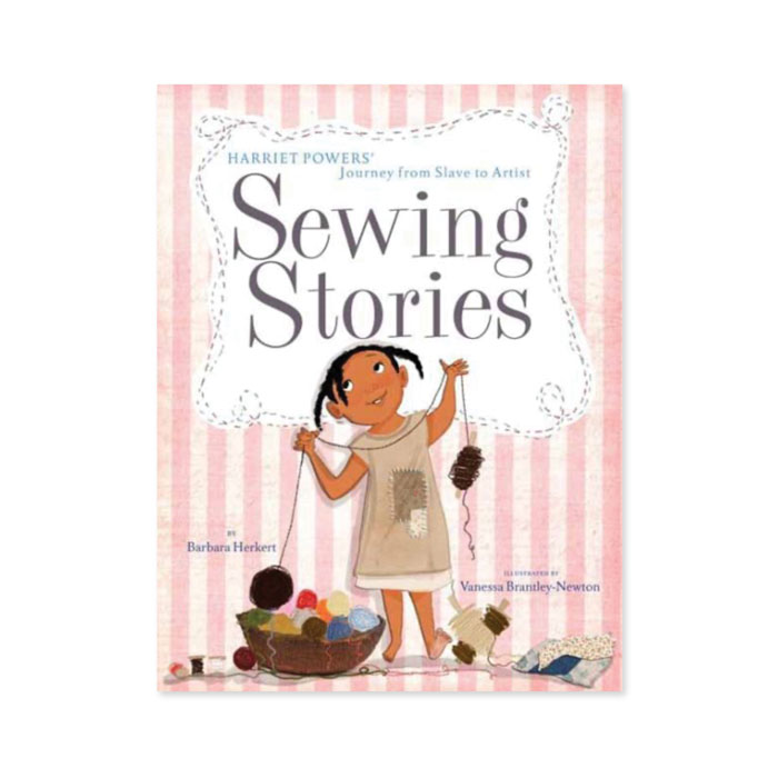 Cover of Sewing Stories book
