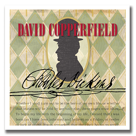 Illustration of Charles Dickens's David Copperfield
