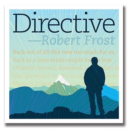 Illustration of Robert Frost's Directive