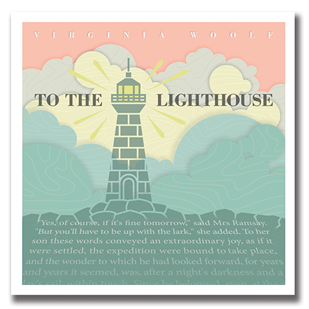 Illustration of Virginia Woolf's To the Lighthouse