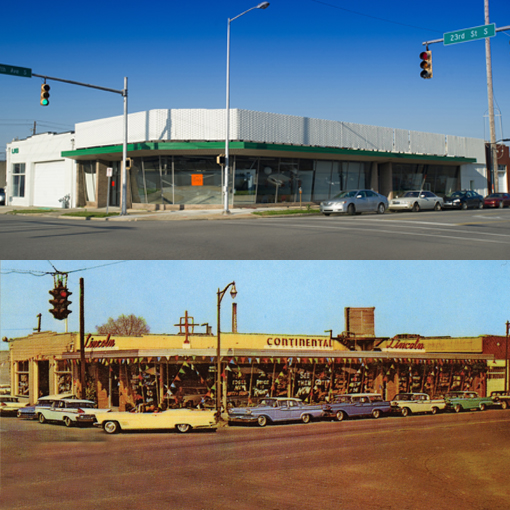 opener-building now and then