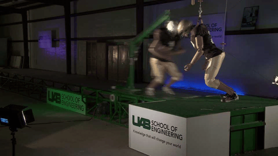 Helmet Crash Test Video