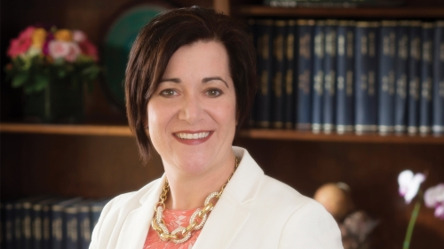 Photo of UAB optometry dean Kelly Nichols