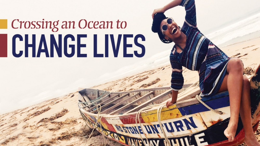 Crossing an Ocean to Change Lives