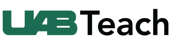 UABTeach logo.